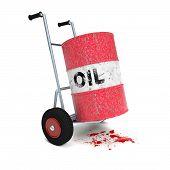 Oil Cart Blood