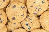 Chocolate Chip Cookies Background