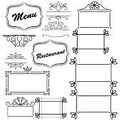 Design element for menu