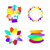 abstract color element idea
