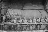 Reclining Chinese Buddha Statue In Shenzhen