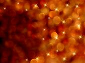 Bokeh Starburst Fiery Abstract