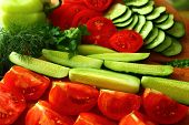 Freshest Cucumbers And Tomatoes To Eat