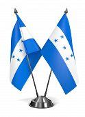 Honduras - Miniature Flags.