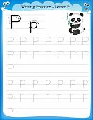 Writing Practice Letter P