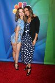 LOS ANGELES - DEC 16:  Bridget Mendler, Bianca Kajlich at the NBCUniversal TCA Press Tour at the Huntington Langham Hotel on December 16, 2015 in Pasadena, CA