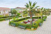 MOLLENDO, PERU, MAY 19, 2014: Plaza Grau