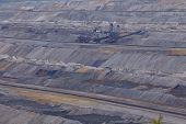 Soft Coal Open Cast Mining Hambach (germany) - Spreader