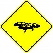 thunder storm sign