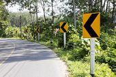 Road Direction Arrows