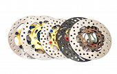 Group Of New Disc Brake For Motorcycle