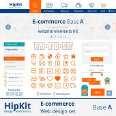 E-commerce web design elements