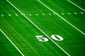 fifty yard line
