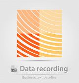 Data Recording Business Icon