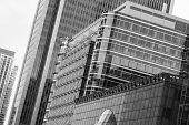 Canary Wharf Office Buildings, London