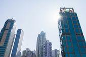 Cityscape of Sheung Wan