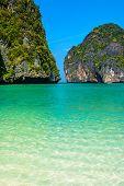 Paradise in Maya Bay, Thailand
