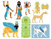 Babylonian gods, creatures and symbols