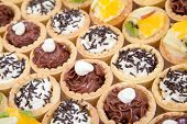 Small Cupcakes With Different Stuffing, Food Catering