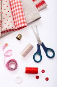 Fabric Decoration Stacked And Accessories For Needlework