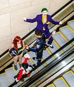 Raleigh, NC, USA - May 23, 2014 - Animazement 2014