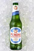 Peroni Beer On Ice Vertical