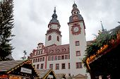 The Christmas market in Chemnitz