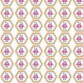 Texture of pink manikins