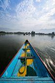 Boats in Lake Dal Kashmir
