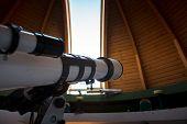 Telescope inside the dome