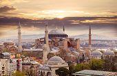 pic of constantinople  - Hagia Sophia in Istanbul - JPG
