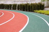 stock photo of track field  - track and field  - JPG