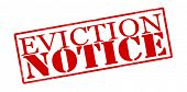 pic of eviction  - Rubber stamp with text eviction notice inside vector illustration - JPG