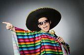 pic of karaoke  - Funny mexican singing in karaoke - JPG