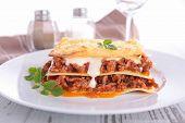 pic of lasagna  - lasagna - JPG