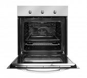 picture of convection  - Electric oven with open door - JPG