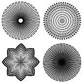 Outline Spirals