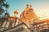 picture of sevastopol  - Domes of Pokrov  - JPG