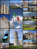 picture of italian alps  - Italy tourism attractions  - JPG