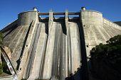 El Grado Ancient Dam In Huesca (Spain)