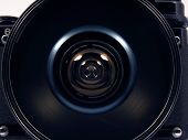 Big Lens On Old Camera