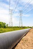 image of petroleum  - Petroleum Pipeline - JPG