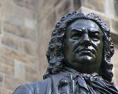 Estátua de Johann Sebastian Bach (Close)