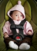 Baby In Car Seat