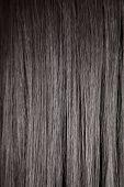 Black Shiny Straight Hair