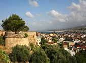 Rethymnon City And Castle Wall