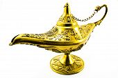 Aladdin`s  Magic Genie  Lamp