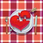 Almoço de dia dos Namorados