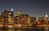 Nyc Skyline Lower East Side
