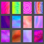 Liquid Color Splash Covers Set. Set Of Modern Marble Splatters. Design Elements For Poster, Cover, C poster